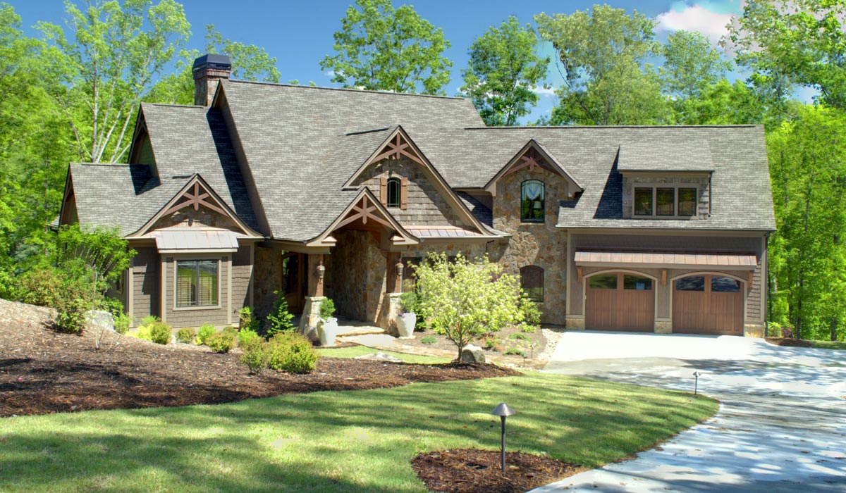 Custom Home Exteriors Model edwards builders :: custom homes